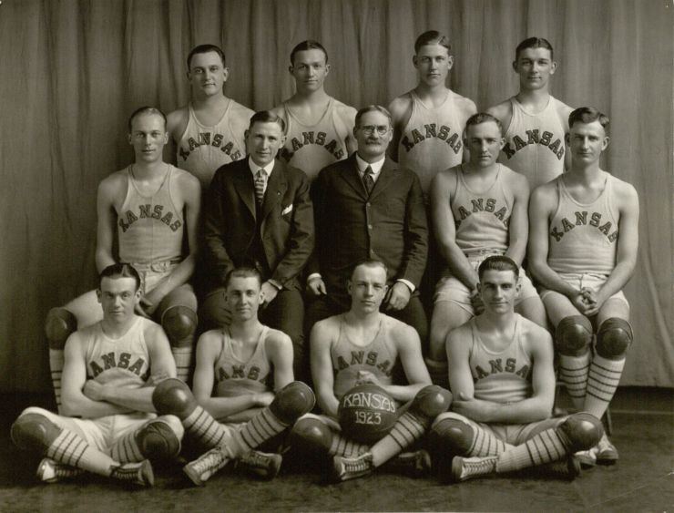 1923 KU James Naismith